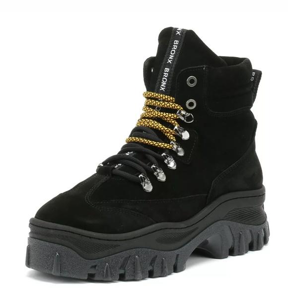 Bronx Shoes - Bronx jaxstar boot hiking boots platform boots